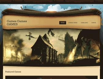 seangames.weebly.com screenshot