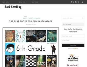 bookscrolling.com screenshot