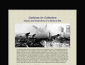 carbinesforcollectors.com screenshot