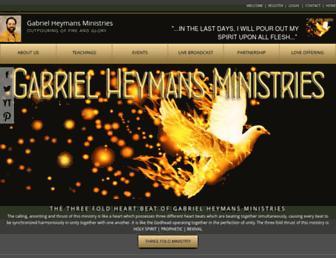 goldandglory.org screenshot