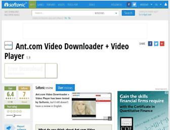 ant-com-video-downloader-video-player.en.softonic.com screenshot