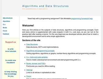 Thumbshot of Algolist.net