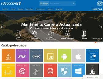 educacionit.com screenshot