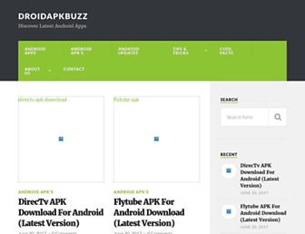 droidapkbuzz.com screenshot