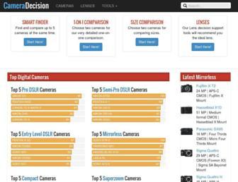 cameradecision.com screenshot