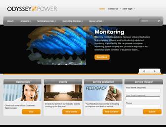 odysseypower.com screenshot