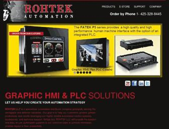 rohtekautomation.com screenshot