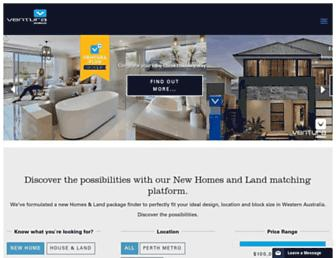 ventura-homes.com.au screenshot