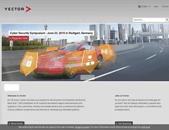 vector.com screenshot