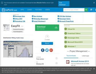 easyfit.en.softonic.com screenshot