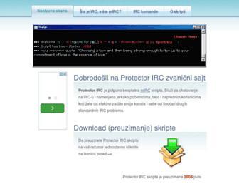 protector.iz.rs screenshot