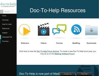 our.doctohelp.com screenshot