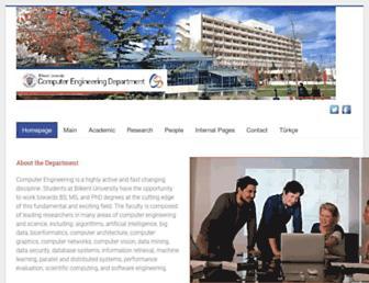 cs.bilkent.edu.tr screenshot
