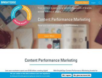 brightedge.com screenshot