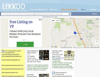 lekkoo.com screenshot