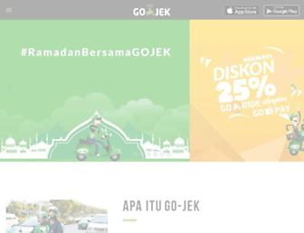 go-jek.com screenshot