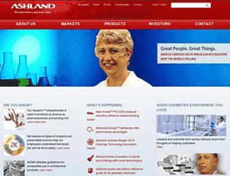 ashland.com screenshot