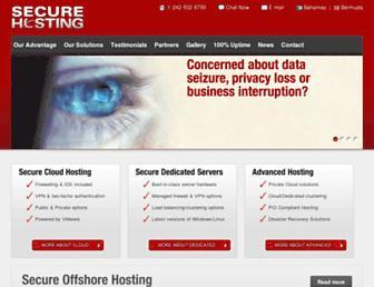 Thumbshot of Securehost.com