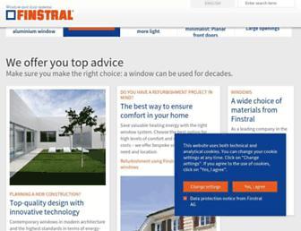 Thumbshot of Finstral.com