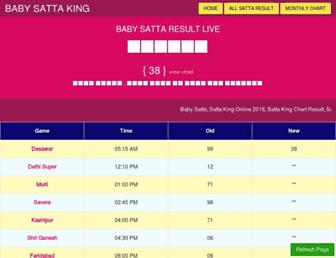 baby-satta.com screenshot