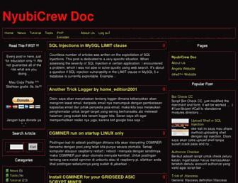 doc.nyubicrew.us screenshot