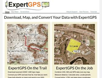 expertgps.com screenshot