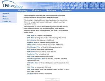 ifiltershop.com screenshot
