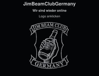 jimbeamclubgermany.de screenshot