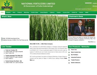Thumbshot of Nationalfertilizers.com