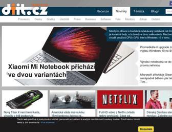 Thumbshot of Diit.cz