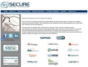 securecontenttechnologies.com screenshot