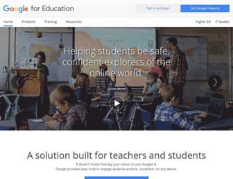 edu.google.com screenshot