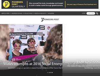 pioneerspost.com screenshot