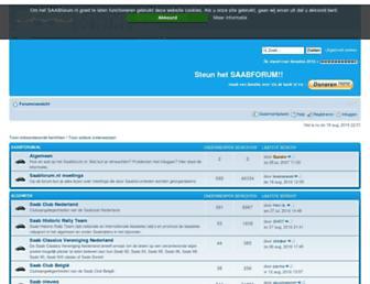 saabforum.nl screenshot