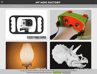 myminifactory.com screenshot