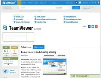 teamviewer-u3sticks.en.softonic.com screenshot