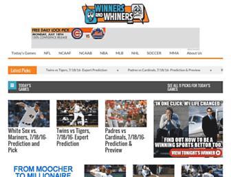 winnersandwhiners.com screenshot