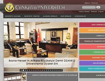 Thumbshot of Cankaya.edu.tr