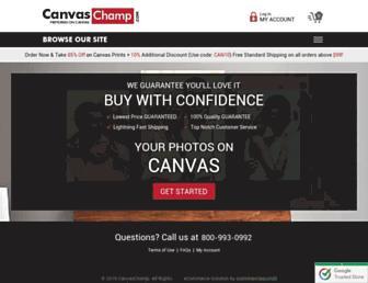 Thumbshot of Canvaschamp.com