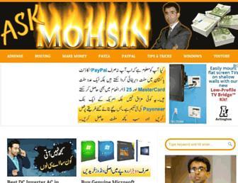 Thumbshot of Askmohsin.com