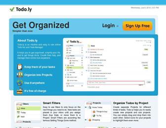 Thumbshot of Todo.ly