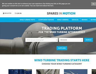 sparesinmotion.com screenshot