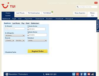 tui.ch screenshot