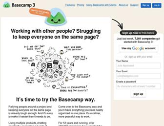 Thumbshot of Basecamphq.com