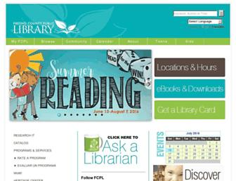Thumbshot of Fresnolibrary.org