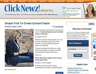 Thumbshot of Clicknewz.com