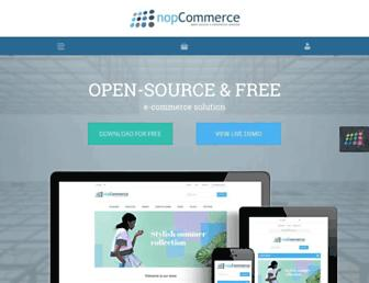 nopcommerce.com screenshot