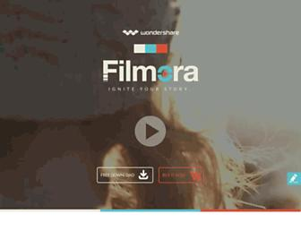 filmora.wondershare.com screenshot