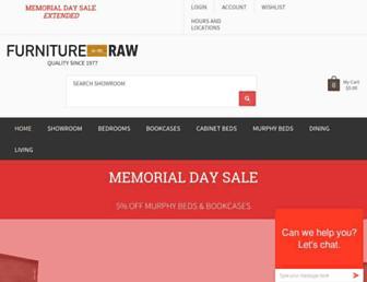 furnitureintherawtx.com screenshot