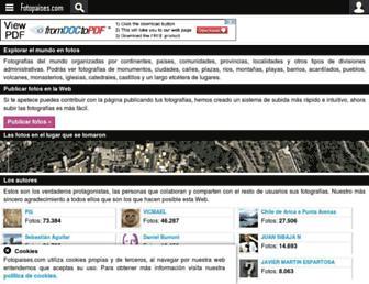 Thumbshot of Fotopaises.com